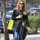 Behati Prinsloo – Shopping at Planet Blue in Beverly Hills