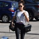 Lucy Hale – Leaving a gym in Studio City