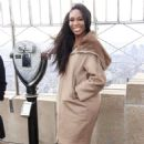 Venus Williams – Lights the Empire State Building in NYC - 454 x 681