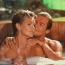 Fiona Fullerton and Roger Moore