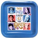 The Brady Bunch Party Plates