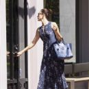 Emmy Rossum is seen in a cute outfit on August 29, 2015