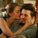 Jess Weixler as Vandy and Jason Ritter as Peter in Strand Releasing 'Peter and Vandy.' - 454 x 303