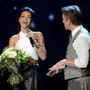 Rihanna performs at Wetten dass..? From Freiburg on December 8, 2012 in Freiburg im Breisgau, Germany