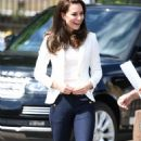 Kate Middleton – 1851 Trust Roadshow at the Docklands Sailing and Watersports Centre in London - 454 x 770