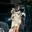 Olivia Culpo – Arrives at Billie Eilish Halloween Party in West Hollywood