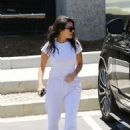 Kourtney Kardashian – Attends Kanye West's Church Service in Los Angeles