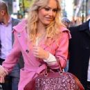 Lindsey Vonn in New York for an appearance on Today with Matt Lauer,