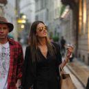 Alessandra Ambrosio Shopping Candids In Milan