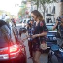 Stacy Keibler – Leaves Cafe Gratitude in Beverly Hills