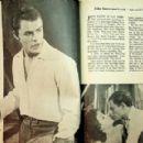 John Saxon - Movie Mirror Magazine Pictorial [United States] (August 1959) - 454 x 290