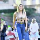 Leann Rimes in Jeans Out in Calabasas - 454 x 681