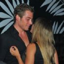 Babi Rossi goes to nightclub with blonde guy