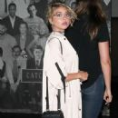 Sarah Hyland Out to Dinner in West Hollywood