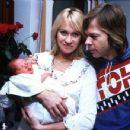 Bjorn Ulvaeus and Agnetha Faltskog - 454 x 349