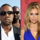 Kate Upton and Kanye West