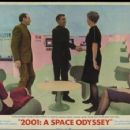 WINDOW CARD FOR THE 1968 MOVIE, 2001; A SPACE ODYSSEY 1968