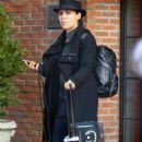 Rosario Dawson – Catching a cab in New York - 454 x 784