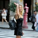 Hailey Clauson – Arrives at 2017 Victoria's Secret Fashion Show Casting in NYC - 454 x 454