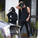 Vanessa Hudgens and Austin Butler Leaves the gym in Los Angeles