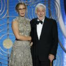 Emily Blunt and Dick Van Dyke At The 76th Golden Globe Awards - Show (2019)