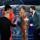 Jennifer Lopez and Chris Evans At The 91st Annual Academy Awards - Show - 454 x 316