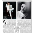 Richard Madden for Saks magazine spring 2015
