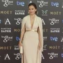 Elena Anaya on the red carpet of the Goya Cinema Awards 2015 In Madrid