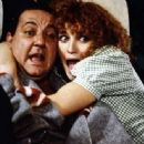 Valérie Mairesse and Coluche
