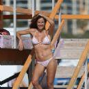 Kelly Bensimon in Bikini on Miami Beach - 454 x 681