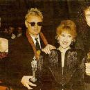 Roger Taylor and Deborah Leng with Brian May and Anita Dobsen - 447 x 319
