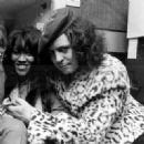 Marc Bolan and Gloria Jones