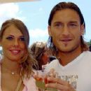 Francesco Totti and Ilary Blasi