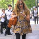 Fearne Cotton Out In London, 21 May 2010