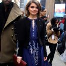 Sami Gayle Leaving A Ny Fashion Show In Nyc