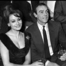 Sean Connery and Claudine Auger - 454 x 368