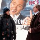Director Chris Koch and Chevy Chase on the set of Paramount's Snow Day - 2000