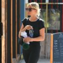 Ashlee Simpson – Goes to the gym in Los Angeles