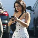 Vanessa Hudgens in Summer Dress – Out in Los Feliz