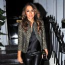 Elizabeth Hurley – Arrives at Annabel's in Mayfair - 454 x 844