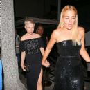 Busy Philipps and Michelle Williams at Poppy for a Golden Globes After Party in LA - 454 x 681