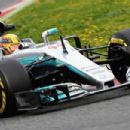 F1 Testing in Barcelona Day Two