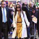 Salma Hayek – Arriving at 'Good Morning America' in New York
