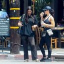 Brittny Gastineau – Grabs lunch with a friend in Hollywood