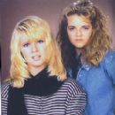 Y&R co-stars Lauralee Bell and Tricia Cast Back in the Day - 294 x 320