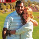 Brenda Asnicar and Carlos Tevez - 422 x 500
