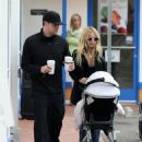 Nicole Richie & Joel Madden Taking Out Daughter Harlow In Glendale, CA 2008-05-09 - 454 x 593