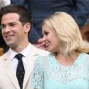 Katherine Jenkins and Gethin Jones