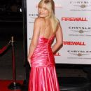 "Carly Schroeder - ""Firewall"" World Premiere"
