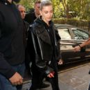 Hailey Baldwin – Out and about in London